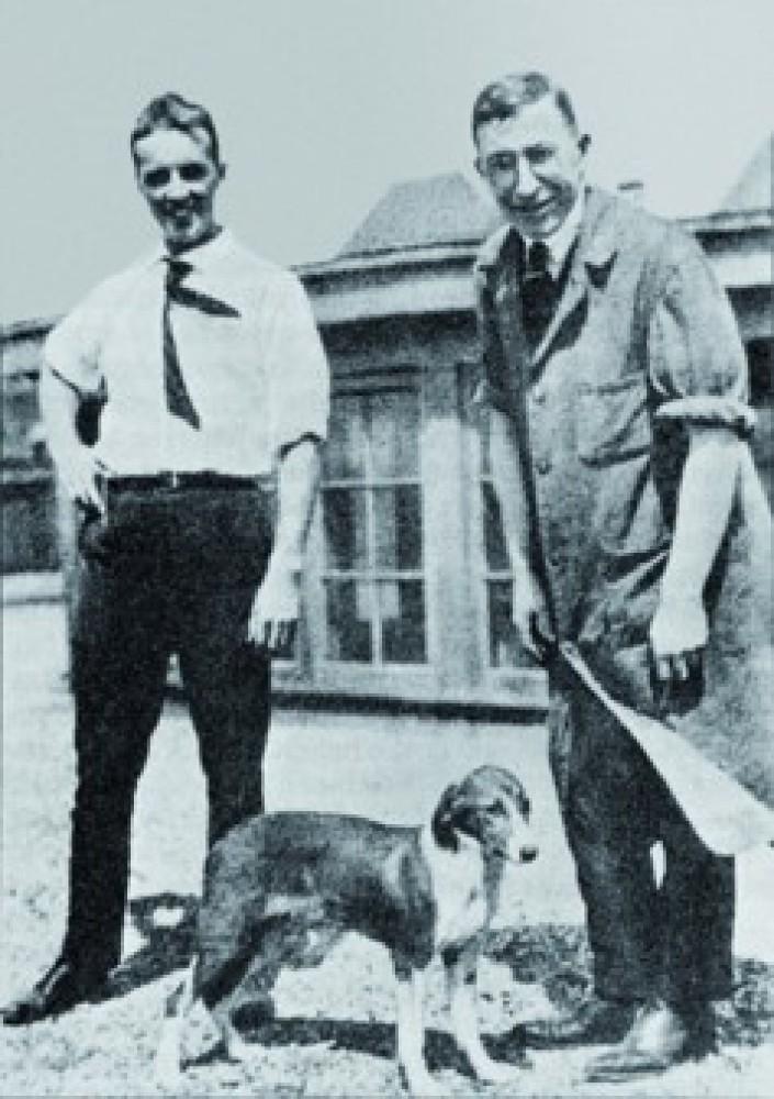 糖尿病の最大の貢献者たち - ベスト(左)糖尿病犬マージョリー(中)バンティング(右) -  -