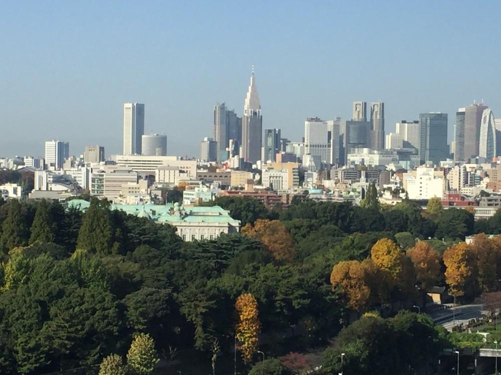 秋の赤坂迎賓館と新宿 -  -  -